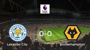 El Wolverhampton Wanderers logra un empate a 0 ante el Leicester