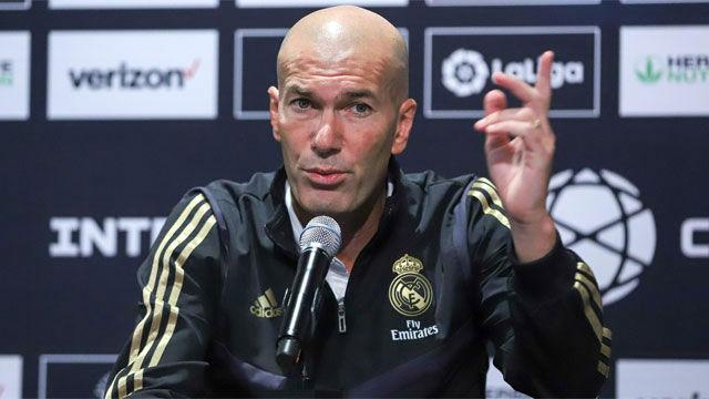 Zidane pasa de hablar de Neymar