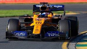 Carlos Sainz (McLaren), en el GP de Australia