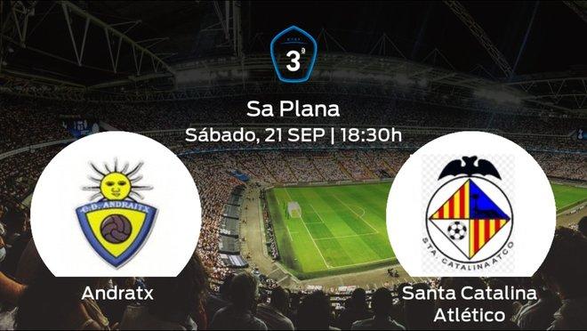 Jornada 5 de la Tercera División: previa del duelo Andratx - Santa Catalina Atlético