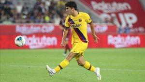 Aleñá vuelve a jugar con el Barça