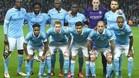 Alineación del Manchester City