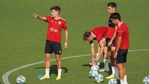 El Almería sigue preparando el play-off de ascenso