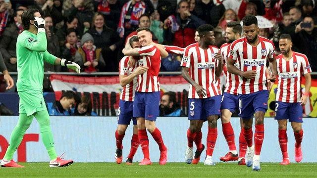 El Atlético, con derecho a soñar tras tumbar al campeón de Champions