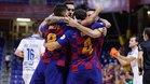 El Barça remontó y acabó goleando al Zaragoza por 4-1