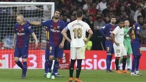 El Barcelona y el Sevilla jugarán la final de la Supercopa de España