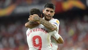 Ben Yedder y Banega, del Sevilla, máximos goleadores de la Europa League