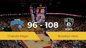 Brooklyn Nets logra derrotar a Orlando Magic en el The Arena (96-108)