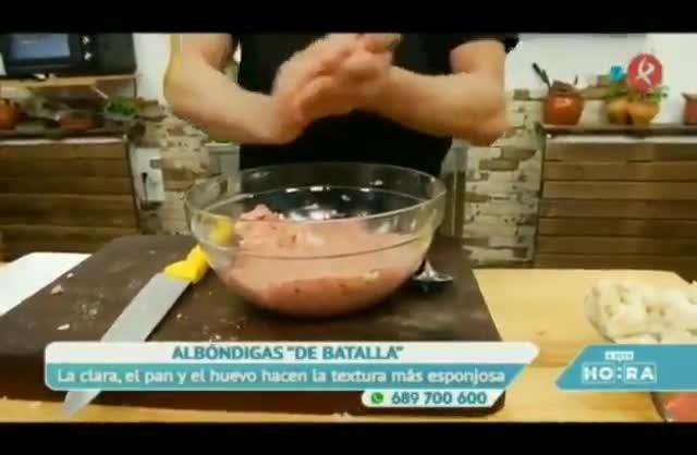 Canal Extremadura deja otro gran momento en su programa de cocina