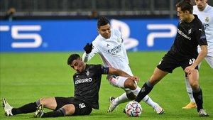 Casemiro ha sido decisivo en el empate del Madrid