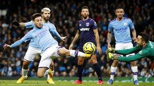 El City no tuvo mayores problemas frente al West Ham