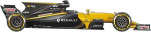 El coche Renault para el Mundial de F1 2017