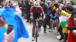 Contador ha escapado a toda lógica en la Vuelta2017
