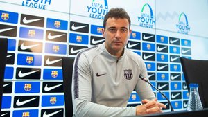 Denis Silva, en la rueda de prensa