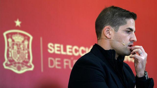 Esto dijo Robert Moreno al sustituir a Luis Enrique: Si decide volver, encantado de echarme a un lado