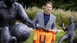 Frank de Boer, flamante seleccionador de Países Bajos