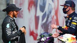 Hamilton y Verstappen, cara a cara