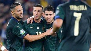 Italia va camino de completar un pleno de triunfos en la fase clasificatoria.