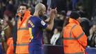 Javier Mascherano es sustituido en el Barça-Celta de los cuartos de final de la Copa del Rey 2017/18
