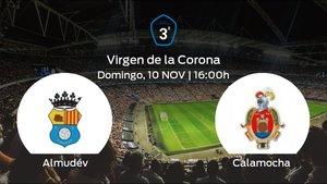 Jornada 14 de la Tercera División: previa del duelo Almudévar - Calamocha