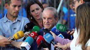 José María García habló tras acudir a la capilla ardiente de Fernández Ochoa