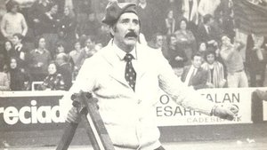 Josep Subietas, el día que cantó a capella Els Segadors en el Palau Blaugrana