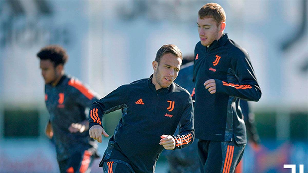 La Juve entrena sin Cristiano Ronaldo