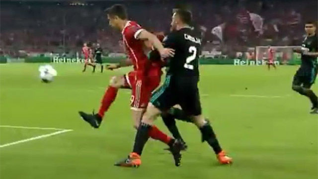 LACHAMPIONS | Bayern Múnich - Real Madrid (1-2): Posible penalti sobre Lewandowski a los 30 segundos