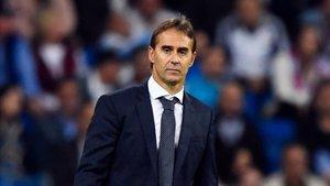 Lopetegui, cesado hoy como entrenador del Real Madrid