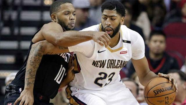 Los Pelicans tumban a los Thunder pese a la lesión de Davis