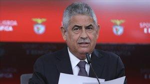 Luís Filipe Vieira presidente del Benfica des del 2003