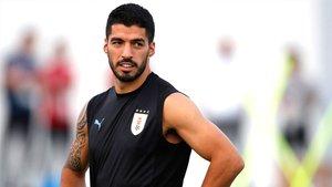 Luis Suárez se incorporará a la concentraciòn de Uruguay a principios de junio