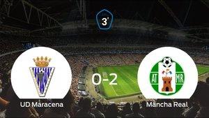 El Mancha Real se queda con los tres puntos después de vencer 0-2 al Unión Deportiva Maracena