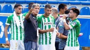 Manuel Pellegrini, entrenador del Betis, puede ser sancionado por el Comité de Competición