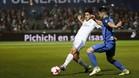Marco Asensio, en una acción en el partido contra el Fuenlabrada