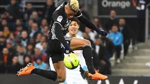 Mariano dio la asistencia del gol de la victoria.