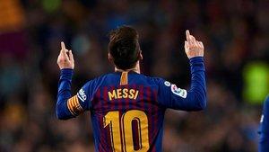 Messi, camino de conquistar un año más la Bota de Oro