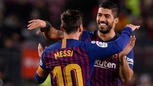 Messi y Suárez son los dos máximos goleadores del Barça y la Liga