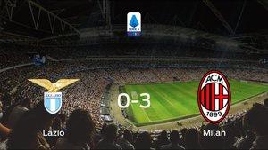 El AC Milan se lleva los tres puntos a casa tras golear al Lazio (0-3)