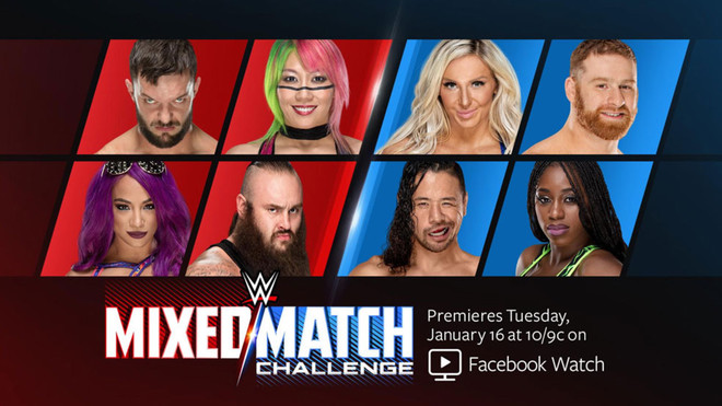 WWE lanza Mixed Match Challange, la nueva serie en Facebook
