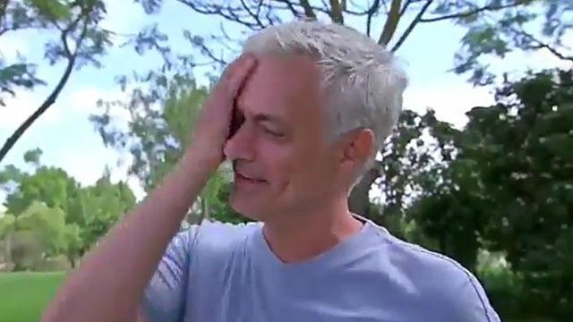 Mourinho rompe a llorar cuando recuerda el fútbol