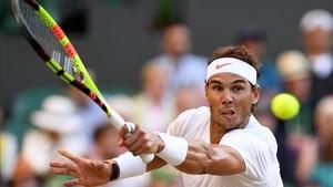 Nadal afronta mañana una nueva semi de Wimbledon