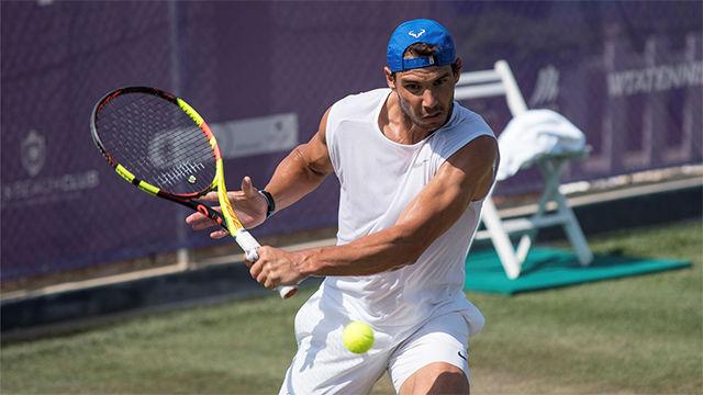Nadal: Jugar en la hierba de Wimbledon es la transición más radical