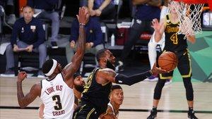 La NBA está jugando las finales en la burbuja de Orlando