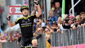 Nieve logró la victoria en la penúltima etapa del Giro