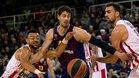 El Olympiacos superó al Barça en el duelo de la primera vuelta