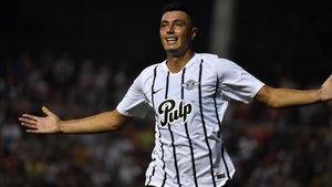 Óscar Cardozo marcó el único gol del partido entre Libertad y Atlético Nacional por Copa Libertadores