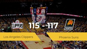 Phoenix Suns se impone por 115-117 frente a Los Angeles Clippers
