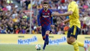 Piqué ya ha jugado 500 partidos con el FC Barcelona