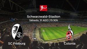 Previa del encuentro: el SC Freiburg recibe al Colonia en la tercera jornada